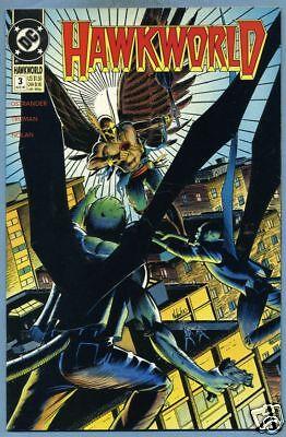 Hawkworld #3 1990 Hawkgirl Hawkman DC Comics