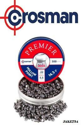 Crosman Premier Hollow Point .22 Cal 500 Count  # LHP22