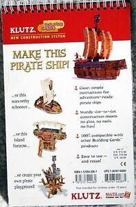 NEW - How to Build Pirate Ships - from Klutz Books Kingston Kingston Area image 2