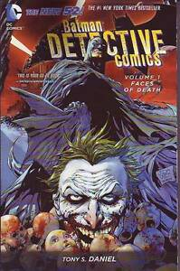 Detective Comics volume 1 Faces of Deathtrade paperback DC New 52 Tony S. Daniel
