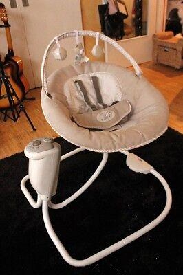 Graco Snuggleswing Babyschaukel Babywippe Schaukel Wippe Bett voll
