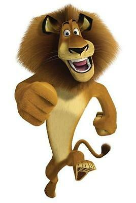 Madagascar Lion Alex #1 T shirt Iron on Transfer 8x10- 5x6 -3x3 light -