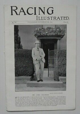 Vintage Horse Racing Magazine Chandler Lambourn Stork Topping Bates Doncaster 19