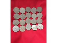 50 pence Coins available