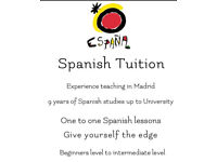 Spanish tuition