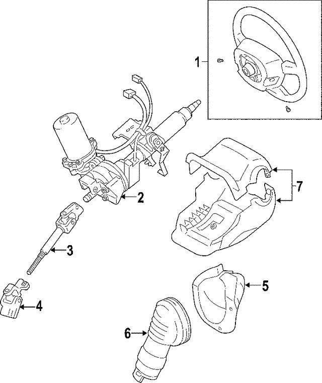NEW Steering Shaft Yoke Universal Joint For Toyota Yaris
