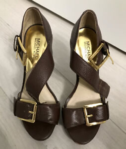 Great Condition- MICHAEL KORS Shoes (Brown)