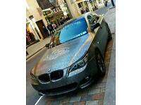 BMW E60 5 SERIES FULLY CUSTOMISED NAPPA LEATHER LOW MILEAGE M SPORT SNAKESKIN WRAP