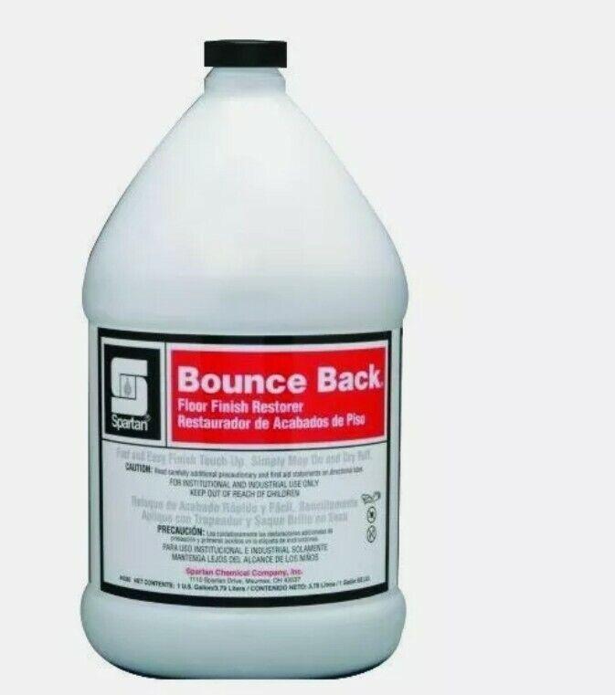 4 gallons Spartan Bounce Back Floor Finish Restorer, Gallons,
