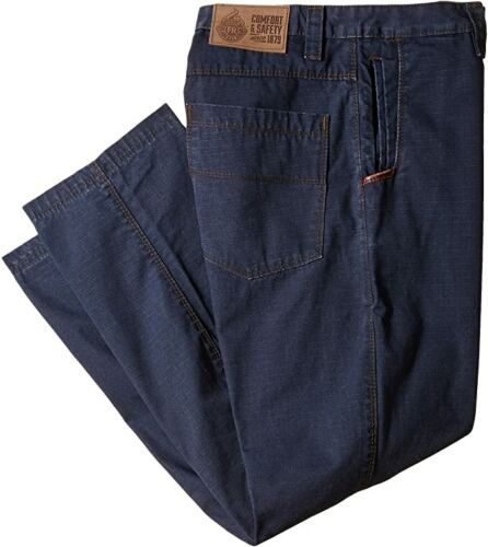 Justin FR Performance Fit JW11000 Navy Flame-Resistant Ripstop Pants 48 W x 30