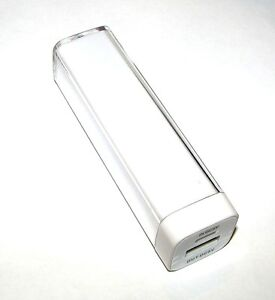 2600mAh USB Power Bank Portable Charger External Battery Backup for iPhone 5 4S