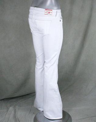 Skinny Wide Leg Jeans (True Religion Jeans women's CARRIE Skinny wide flare leg WHITE optic rinse)