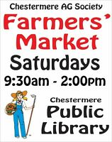 Weekly Farmers' Market in Chestermere