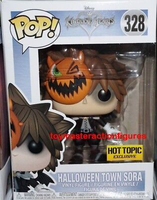 FUNKO POP DISNEY KINGDOM HEARTS HALLOWEEN TOWN SORA #238 HOT TOPIC In - Sora In Halloween Town