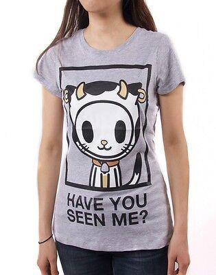 NEW Official Tokidoki Missing Junior's Women's Tee T-shirt WBTE06171 US Seller