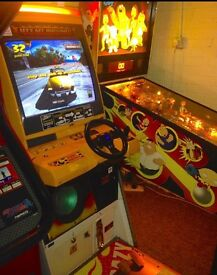 1999 Sega Crazy Taxi Arcade Machine