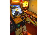 1999 Sega Crazy Taxi Arcade Machine