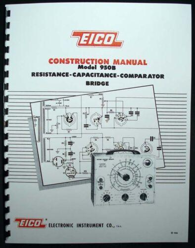 EICO Model 950B Resistance-Capacitance-Compactor Bridge Construction Manual