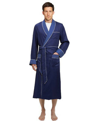 Mens Long Silk Satin Robe - Fully lined Heavy weight  USA SELLER  -FAST SHIP