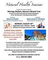 Moringa Natural Health Seminar