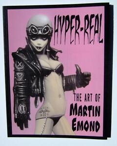 HYPER-REAL-ART-OF-MARTIN-EMOND-VEROTIK-DANZIG-RARE-OOP