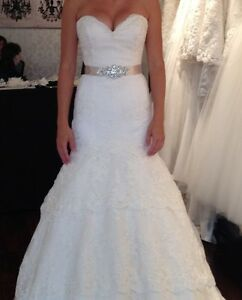 Robe mariée dentelle ivoire taille 4 / ivory lace wedding dress