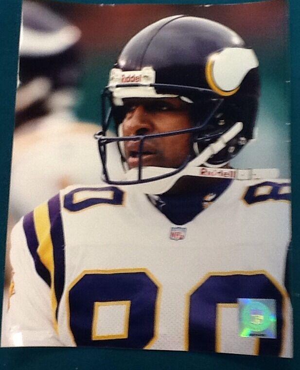Chris Carter NFL Authentic 8x10 Photo
