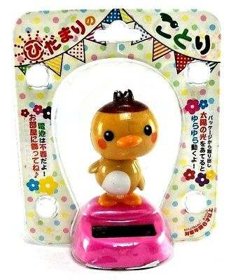 Solar Power dancing Bird doll fortune Toy Gift Car Home garden Desktop Decor kid