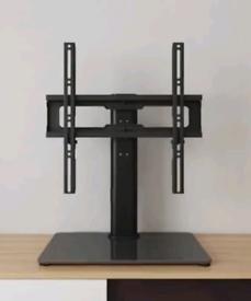 "Universal Table top TV stand Swivel 26"" - 55"" Plasma flat/ Glass base"