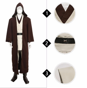 Star Wars Jedi Knight Obi-Wan Kenobi Cosplay Costume