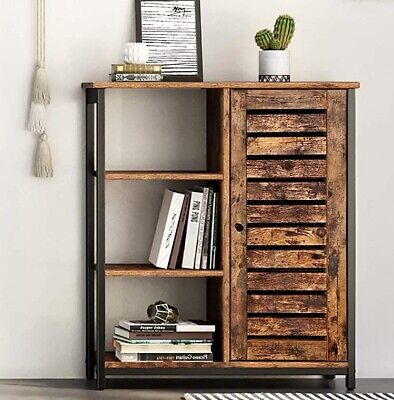 Industrial Style Storage Cabinet Cupboard Unit Small Sideboard Vintage Buffet