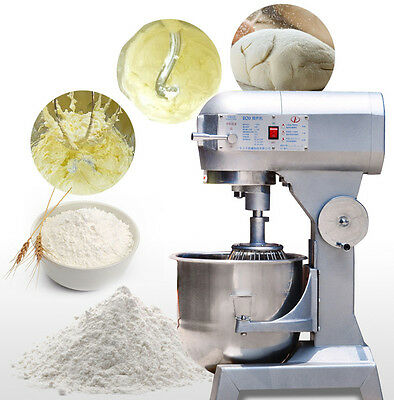 20l Commercial Multi-function Dough Food Mixer Egg Beater Dough Blender 220v
