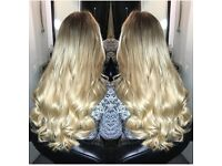 FULL HEAD OF HAIR EXTENSIONS FROM £80