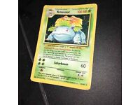 Rare VENUSAUR Pokemon card/ collectors item