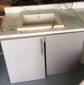 2 Porcelain Vanity sinks never used