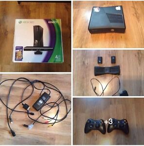 Xbox 360 with kinect bundle
