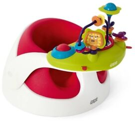 Mamas and papas bumbo snug chair seat with toy tray