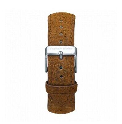 Kapten & Son Brown Vintage Leather Watch Strap