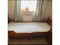 Ikea Extendable bed with mattress