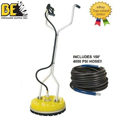 Be Pressure Whirl-a-way 20 Flat Surface Cleaner-washer 150 Pressure Hose