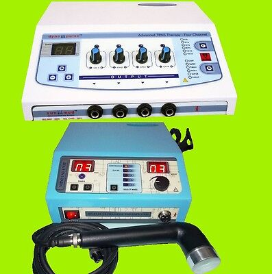 Electrical Stimulator Electrotherapy Machine Ultrasound Therapy Physical Therapy