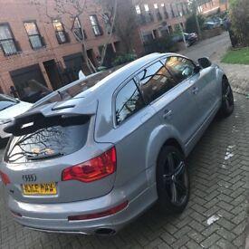 Audi Q7 2013 facelift /56reg NARDO grey
