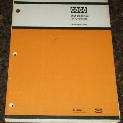 Case 26d Backhoe Parts Manual Factory Oem For 350b 450b 450c 455c Tractor Dozer