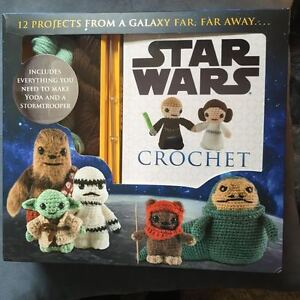 Star Wars and Peanuts Crochet Kits Peterborough Peterborough Area image 1