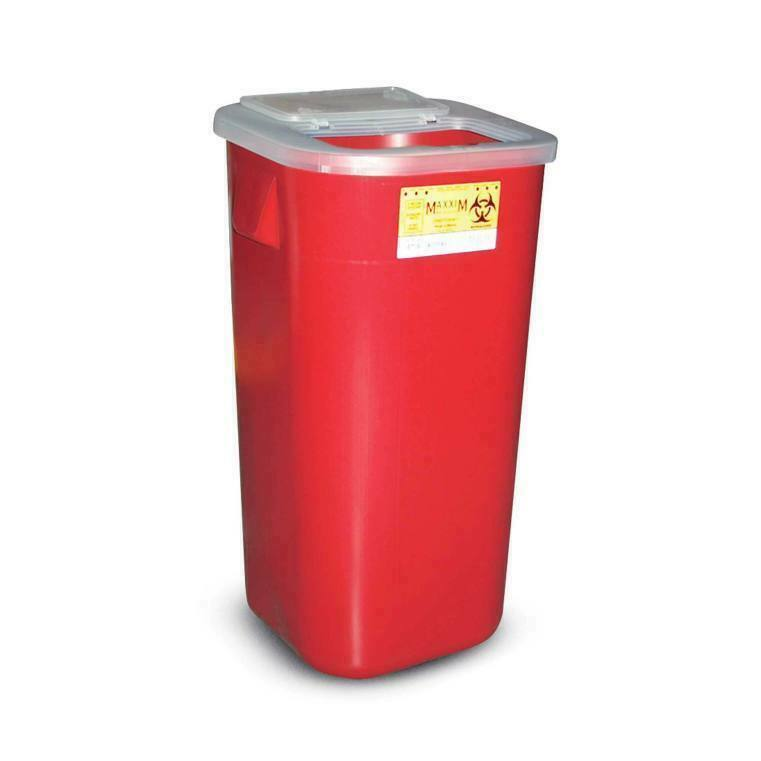 16 Gallon Sharps Container, Medical Waste Container