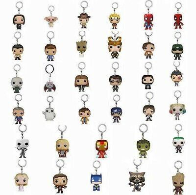 Keychain Funko Pocket Pop! Groot, Giant, Dead Pool Vinyl Spider Iron Man Venom