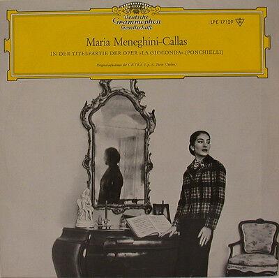 """MARIA MENEGHINI-CALLAS IN DER OPER LA GIOCONDA PONCHIELLI VOTTO 10"""" LP (d782)"""