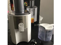 BRAUN Juicer J500 Good Condition Spin Centrifugal Used