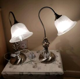 Table lamps (the pair)