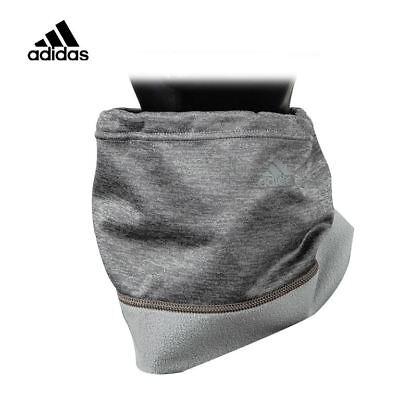 Adidas Gray Neck Warmer, Climawarm, Gaiter Tube Fleece Free Size